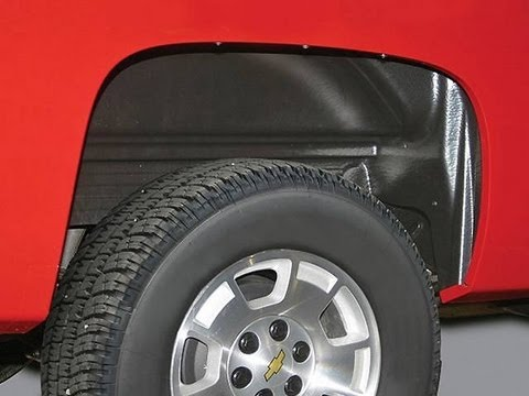 How To Install The Rugged Liner Rear Wheel Well Inner