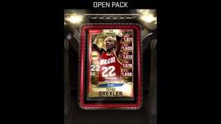MyNBA2K15 147k credits THE GREATS packs opening