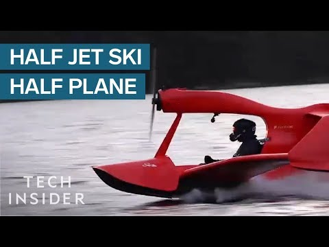 You Don't Need A Pilot's License To Fly This Jet Ski Plane