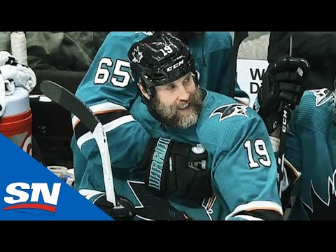 Joe Thornton Ecstatic After Scoring First Hat Trick Since 2010