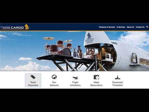 Singapore Cargo Tracking,Singapore Air Cargo Tracking Status