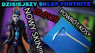 SHOP FORTNITE 20.01.19 NEW SKIN!, THE RETURN OF THE SCY!!!):