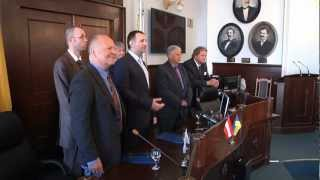 Чернівці підписали угоду з Вольфсбергом (Австрія)