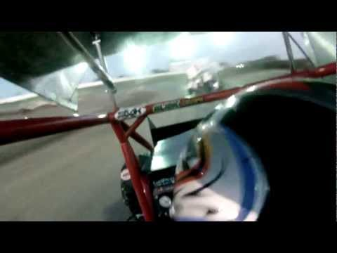 Micro Sprint 6/23/12 Heat Race 1a Dixon Speedway