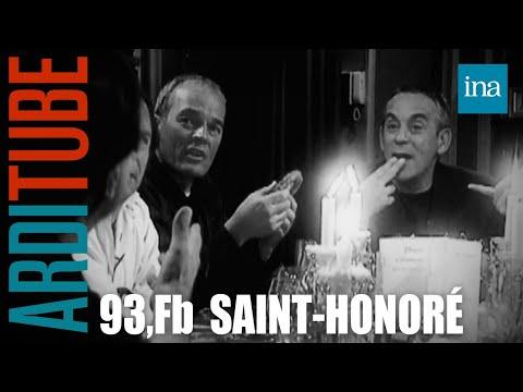 Dîner  Stavaganza au 93, Fb Saint-Honoré chez Thierry Ardisson | INA Arditube