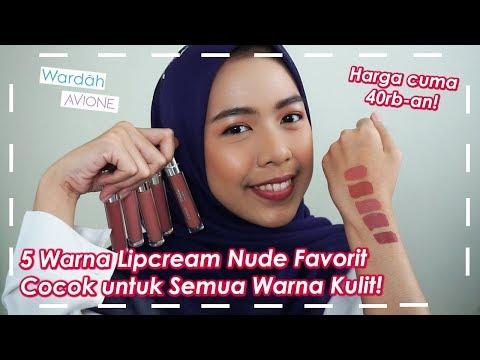 lipstick-nude-lokal-favorit-!-cocok-untuk-bibir-gelap-&-rekomendasi-lipstik-makeup-lebaran-2019