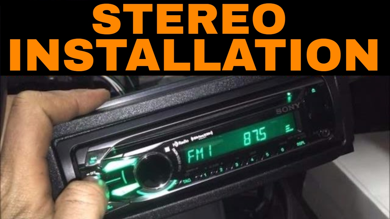 hight resolution of 2001 2004 dodge dakota durango radio stereo deck installation replacement video