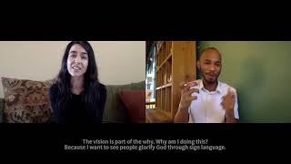 Deaf Millennial Chat Podcast Episode with Ashley Clark