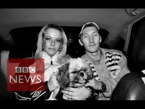 Mike Harvey: Taxi driver who photographs his passengers - BBC News