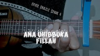 Download Lagu ANA UHIBBUKA FILLAH - ACI CAHAYA #coverukulele mp3