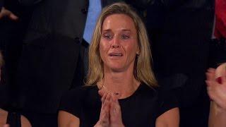 Widow Of First Fallen Soldier Under Trump Praised At Congressional Speech
