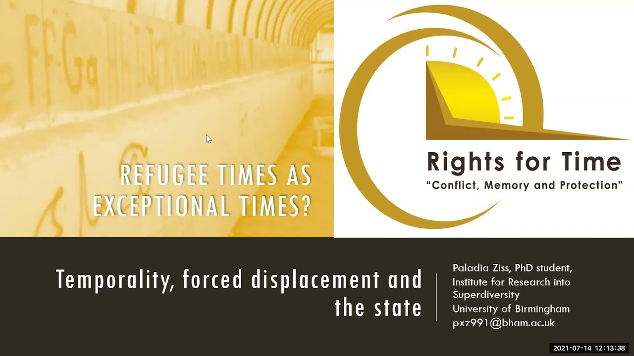Rights for Time Webinar: Migration and Time