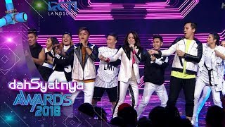 DAHSYATNYA AWARDS 2018 Sheryl feat Rizky Chandra Liow Sweet Talk 25 Januari 2018