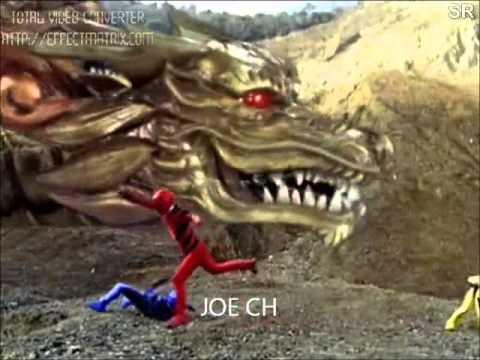 Power Rangers Furia Animal Batalla Final  YouTube