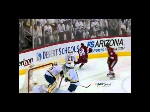 All Phoenix Coyotes 2012 Stanley Cup Playoff Goals Part 3/4