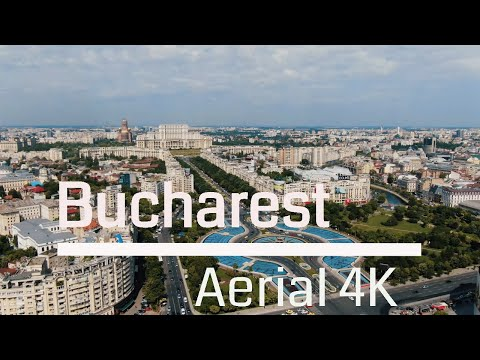 Bucharest - Aerial perspective