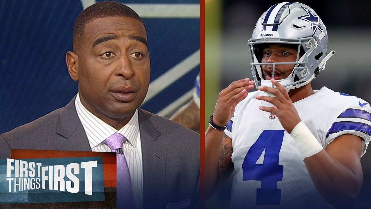 Cris and Nick react to Jerry Jones comparing Dak's talent to Cam and Goff | NFL | FIRST THINGS FIRST