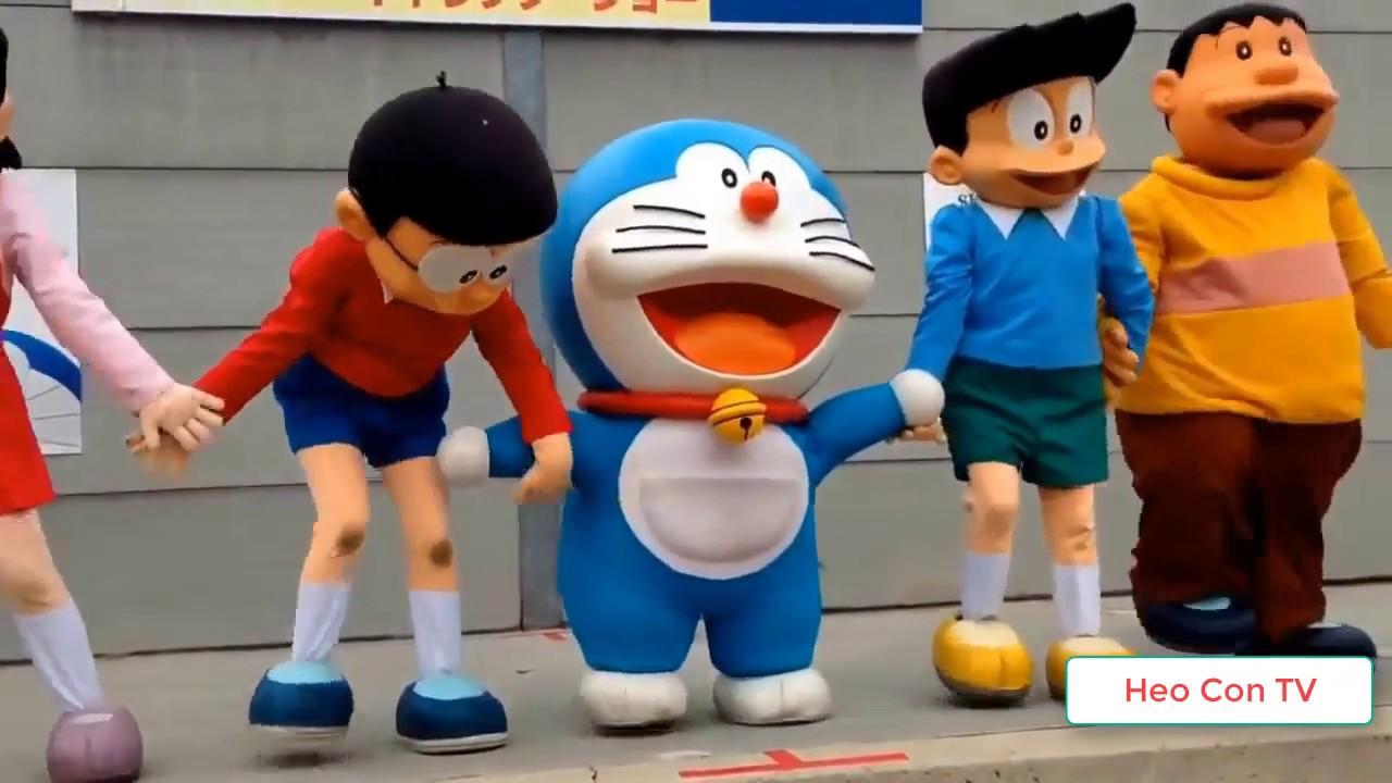 Chú Ếch Con , Quả bóng tròn tròn  - Nhạc Thiếu Nhi Remix Hay Cho Bé Yêu - Đô rê mon Nobita