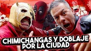 Voz de DEADPOOL: Pepe Toño Macías & Súper Escorpión Dorado al Volante