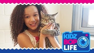 KIDZ BOP Life: Vlog # 18 - Ahnya's Day at The Animal Shelter