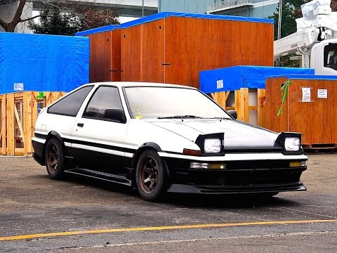 1986 Sprinter Trueno AE86 GT-Apex JDM Japan Auciton Purchase Review