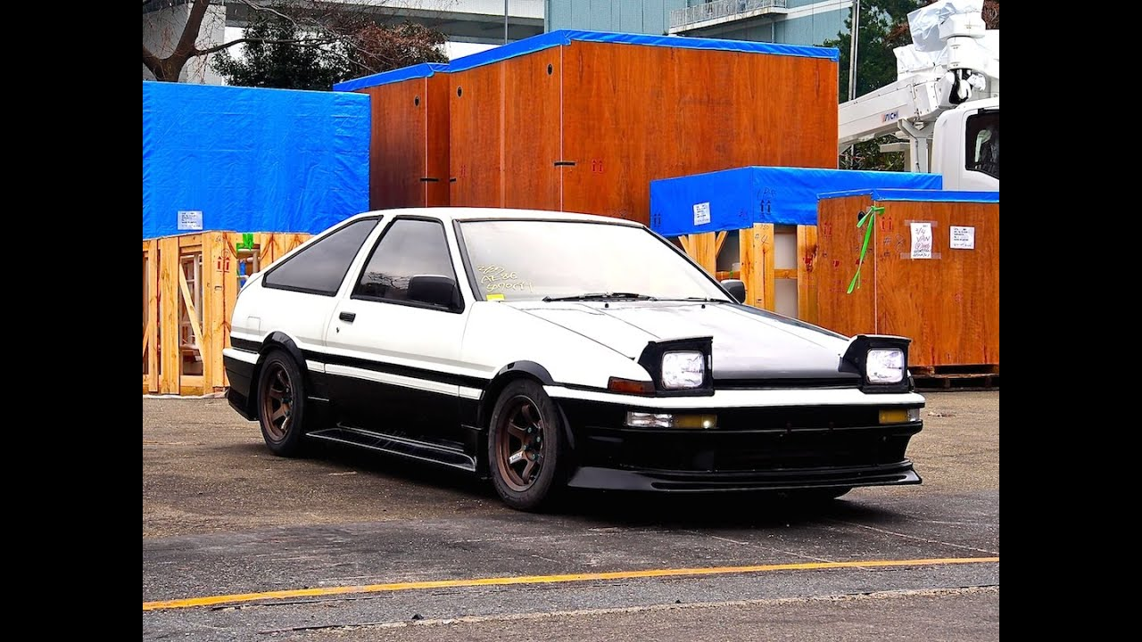 1986 Toyota Sprinter Trueno GT Apex - Test Run 05/2013 - YouTube