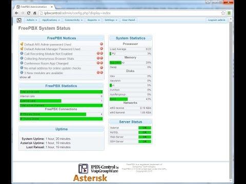 Instalando PABXControl Asterisk Guardian en Máquina Virtual Win10
