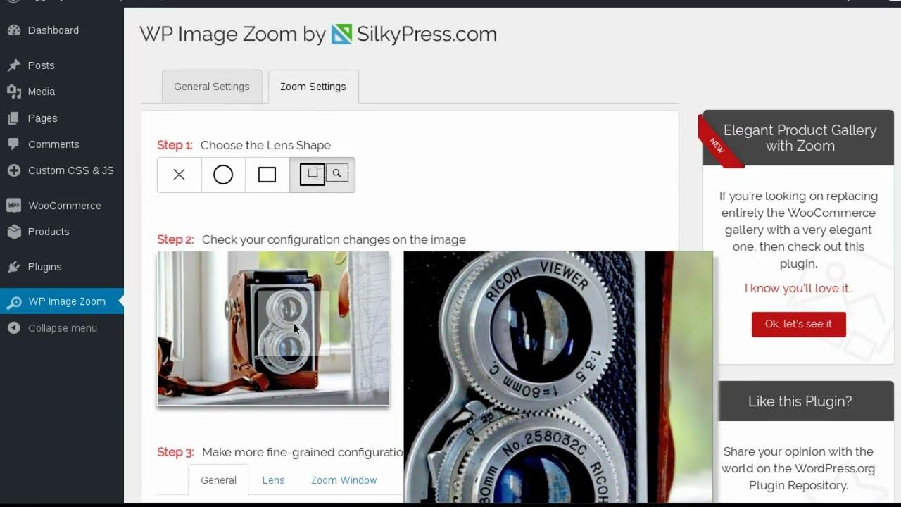 WP Image Zoom – WordPress plugin   WordPress org