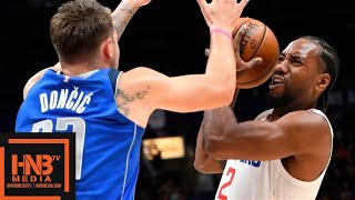 LA Clippers vs Dallas Mavericks - Full Game Highlights | October 17, 2019 NBA Preseason