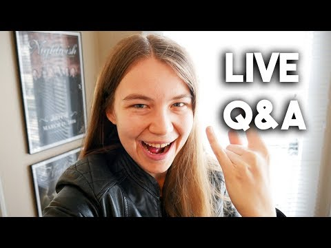 My First Live Stream - Live Q&A!