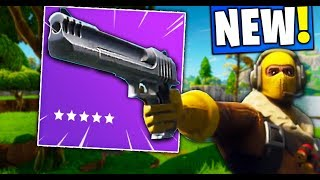 *NEW* HAND CANNON ACTUAL GAMEPLAY in Fortnite!! (IS IT GOOD??)