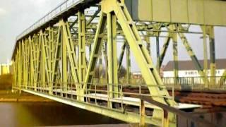 PONTE GIREVOLE DI BREMERHAVEN- SWING BRIDGE IN BREMERHAVEN