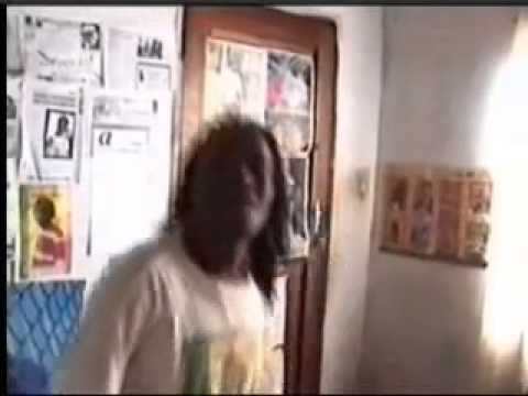 Rastaman nkhushu dance to his reggae beat by dreds