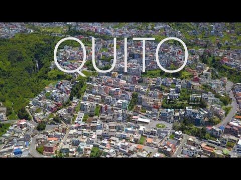 QUITO ECUADOR 2018, PART 1,  DRONE DJI MAVIC