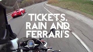 CBR250r Mods / Tickets / Racing a Ferrari