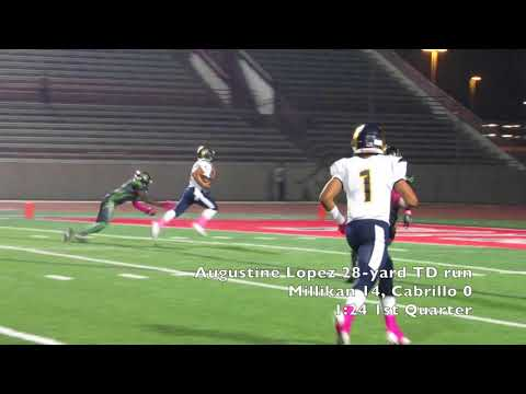 High School Football: Millikan vs LB Cabrillo