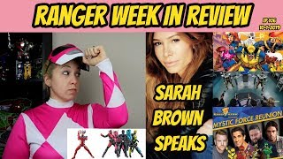 RWIR 106 | SARAH BROWN SPEAKS | MYSTIC FORCE REUNION | RIDER TOYS IN THE US | LAWSUITS AND MORE