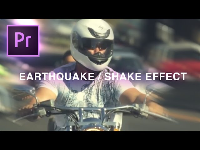 Earthquake Camera Shake Transition Effect | Adobe Premiere Pro CC Tutorial (How to 2017)