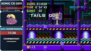 Sonic CD 2011 by Flying_fox in 20:53 - Frame Fatales 2019
