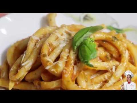 Fusilli al Ferretto Calabresi - Alla mediterranea Ricetta Facile - Italian Recipe