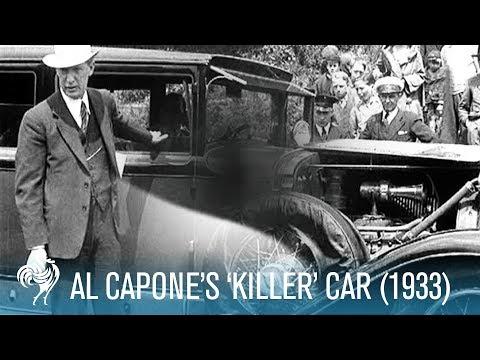 """Al Capone's """"Killer"""" Car (1933)"""