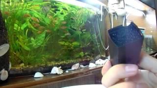 Видео-обзор аквариумного фильтра и компрессора