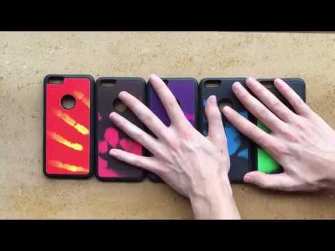 Термо чувствителни кейсове, сменящи цвета си.