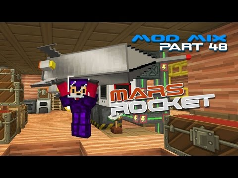 minecraft how to build a rocket