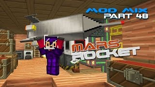 Modded Minecraft - Galacticraft Tier 2 Rocket [48]