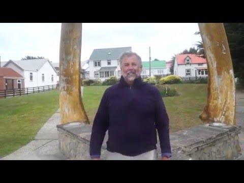 Falklands Islands - Severe Wind Storm - Wild boat tender ride