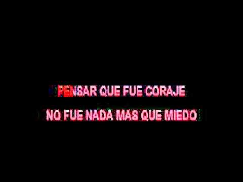 Alejandro Sanz & Shakira   Te lo agradezco pero no KARAOKE
