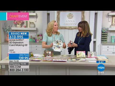 HSN | Anna Griffin Elegant Paper Crafting . http://bit.ly/2XkpfUi