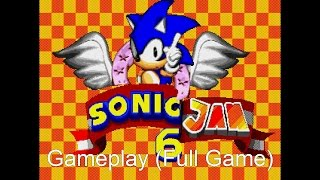 Sonic Jam 6 (Gameplay, Full Game)