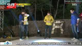 Video Running Man Ep 144 Eng Sub - Guest  Cha In-pyo, Ricky Kim and Seo Jang-hoon download MP3, 3GP, MP4, WEBM, AVI, FLV April 2018